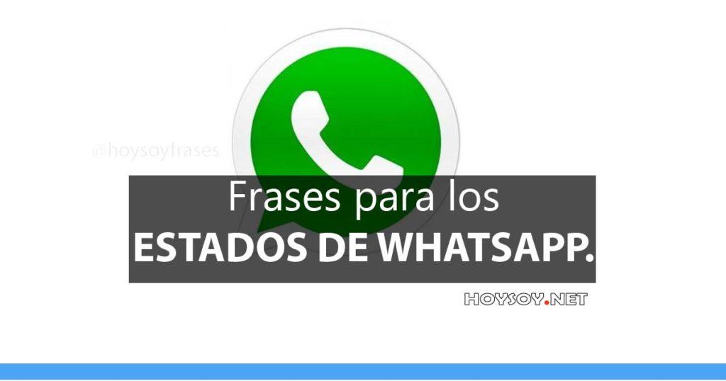 19 Frases Bonitas Para Estados De Whatsapp