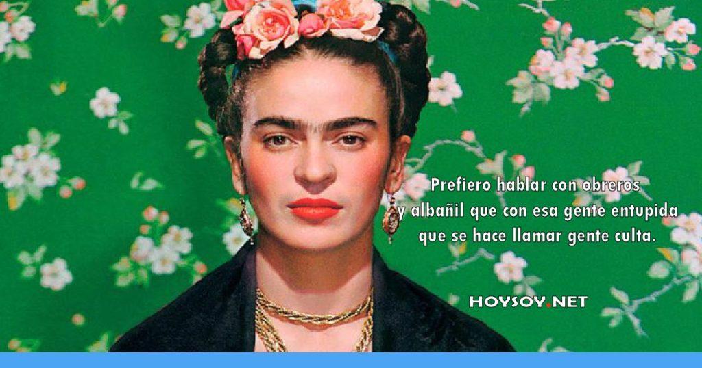 17 Frases De Frida Kahlo