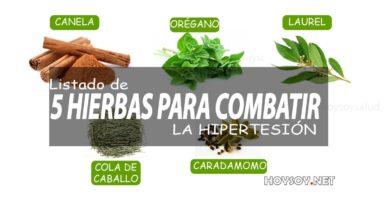 Hierbas para la hipertensión