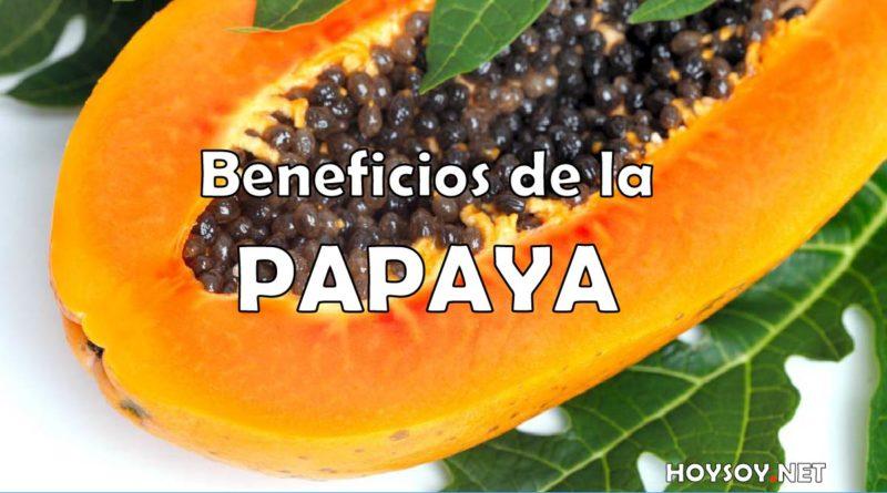 Beneficios de la papaya o lechza