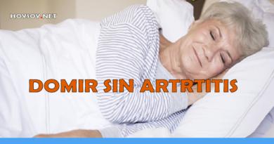 dormir sin artritis