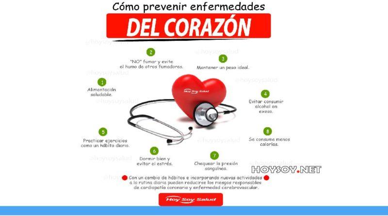 Cómo prevenir enfermedades del corazón