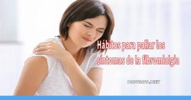 hábitos para paliar los síntomas de la fibromialgia