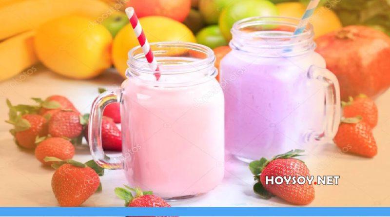 Licuado de frutas para perder peso