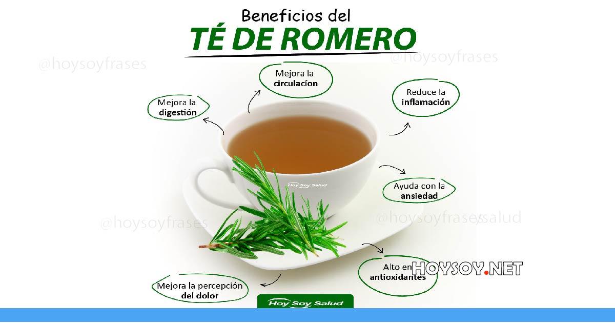 Beneficios del té de romero