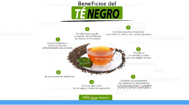 Beneficios y propiedades del té negro