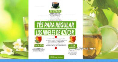 tés para regular el azúcar