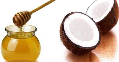 Bebida de coco y miel