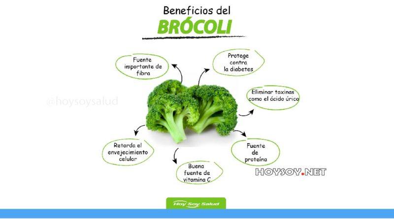 Beneficios del brocóli