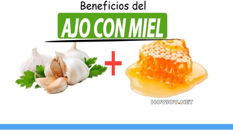 Beneficios del ajo y miel
