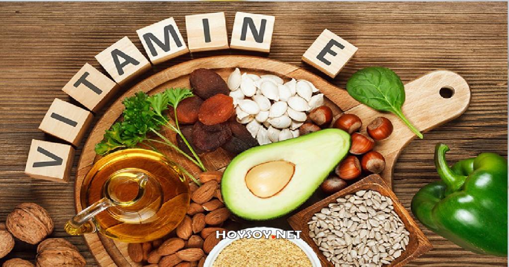 alimentos con vitaminas E