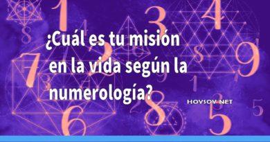 cuál es tu misión en la vida según la numerología