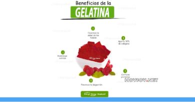 Beneficios de la gelatina