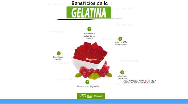 Beneficios de la gelatina