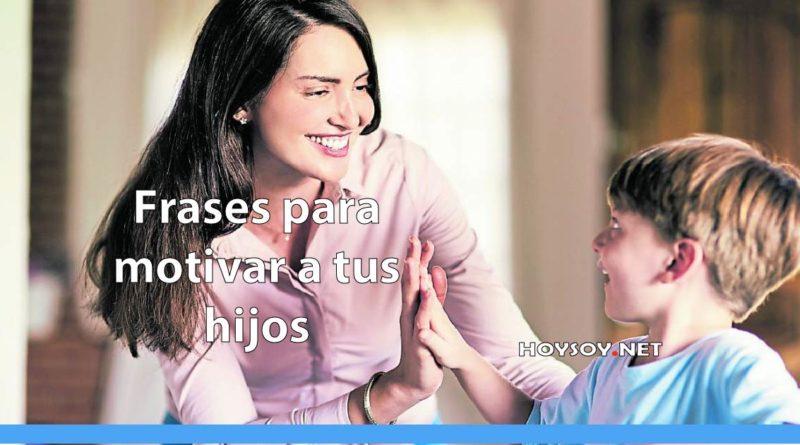 motivar a tus hijos