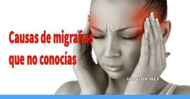 Causas de migrañas que no conocías