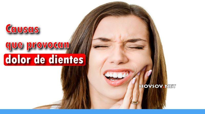 Seis causas comunes del dolor en los dientes
