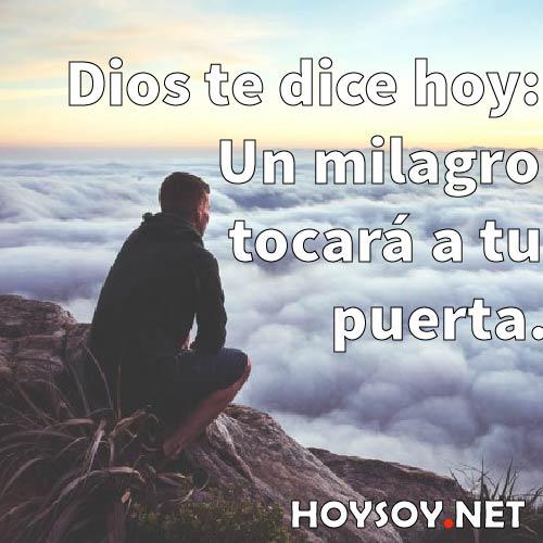 Dios te dice hoy: