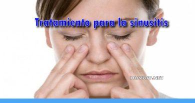 Tratamiento para la sinusitis - REMEDIOS NATURALES