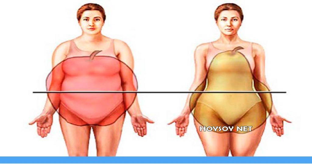 Diferentes tipos de obesidad