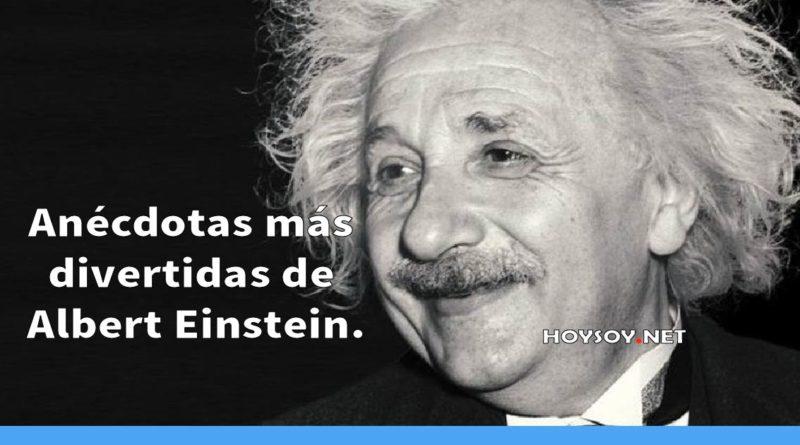 Anécdotas más divertidas de Albert Einstein.