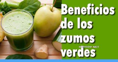 Recetas de jugos verdes nutritivos