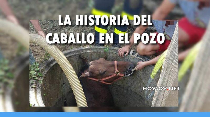 La historia del caballo en el pozo