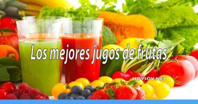 Los mejores jugos de frutas