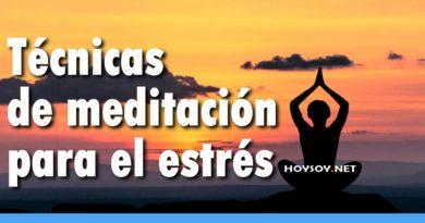 Técnicas de meditación para el estrés