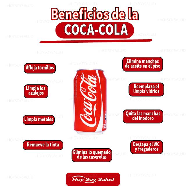 Usos para la Coca-Cola.