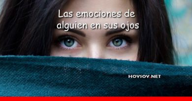 las emociones de alguien en sus ojos
