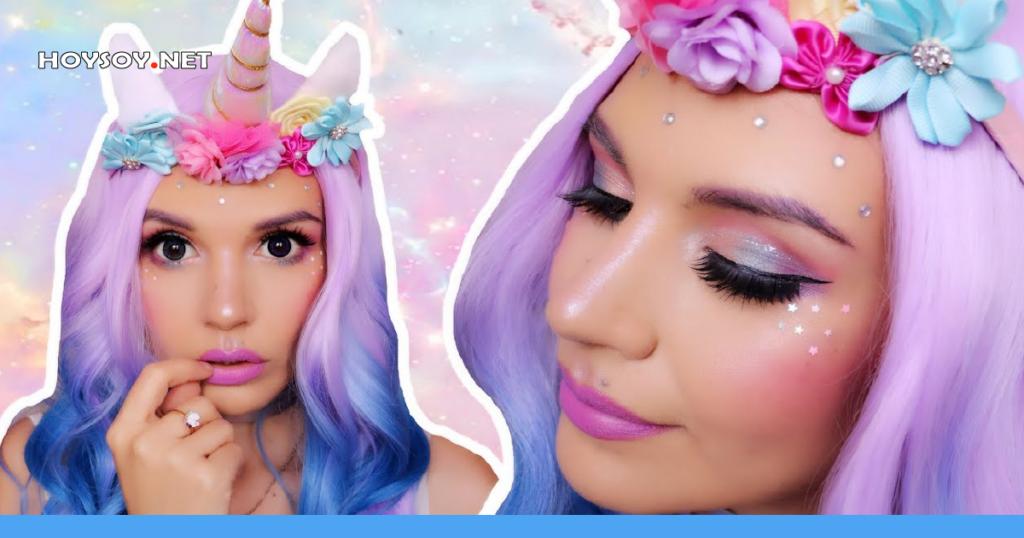 Maquillaje de unicornios