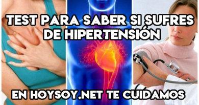 test para saber si tienes hipertensión